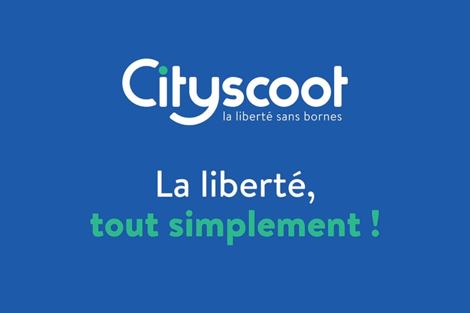 Cityscoot ad